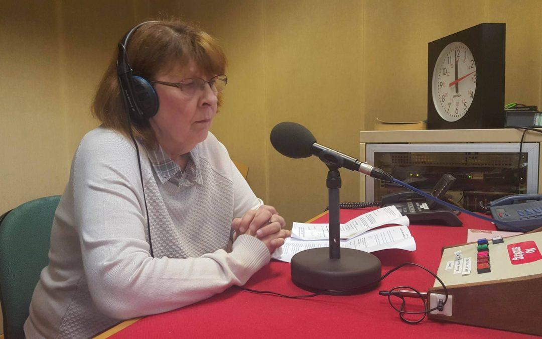 Maggie Hahn Interviewed On BBC 2017